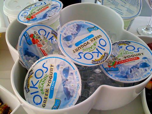Stonyfield Oikos Yogurt