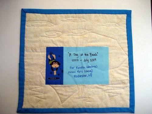 July STUD quilt for abxkris