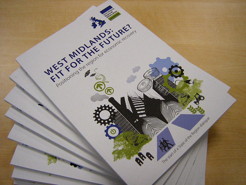Copies of our book called West Midlands: Fit for the Future?