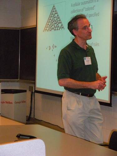 Presenting Cellular Automata at CMU, July, 2009