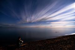K20D0839 (Bob West) Tags: longexposure nightphotography ontario beach lakeerie greatlakes moonlight nightshots startrails southwestontario bobwest k20d