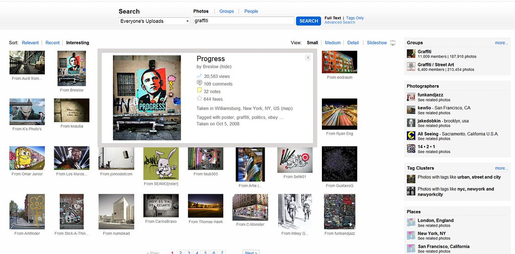 Flickr Refreshes Search
