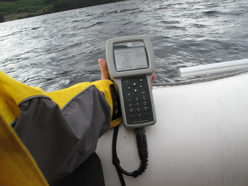 Datalogger of the YSI600XL Sonde