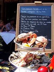 Sea Food platter in St Malo