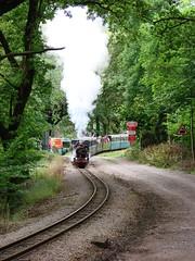 River Mite leaving Beckfoot (ChrissieT) Tags: engine railway steam cumbria rer clarkson eskdale ratty ravenglass dalegarth uksteam rivermite