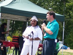 Senator Peters at the Oak Hill community gathering