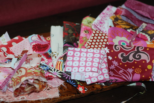 Fabric Scraps 2 by you.