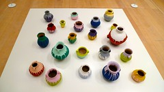 """Colored Vases"" (2006) (dc chen) Tags: japan tokyo roppongi roppongihills 2009 moritower moriartmuseum   aiweiwei  panasonicdmclx3"