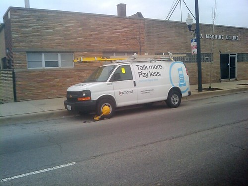 Comcast Van