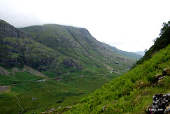 Glen Coe - Looking back but still climbing