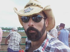 Windy City Rodeo 2009 - Video (JustChuck) Tags: bear gay hairy woof beard cowboy crete rodeo 2009 gayrodeo igra ilgra