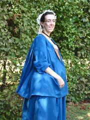 1740s casaque, side