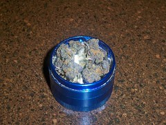 Puurple Nuggettss (Nicofriendly) Tags: weed purple nuggets grinder ganja purp