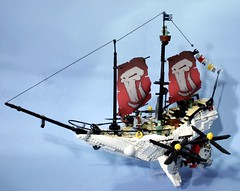 round 3 (psiaki) Tags: lego steam airship steampunk moc