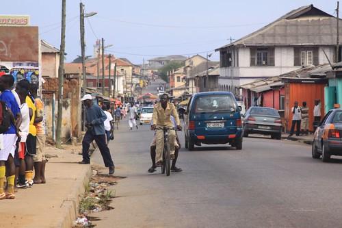 Usher Town. Accra, Ghana.