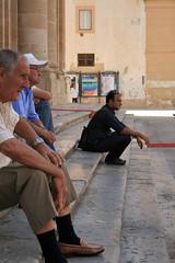 Generazioni (sabrinac78) Tags: people scale gente riposo sicily sicilia passio siciliani anziani scalinata paese sagrato vecchi gesti guardare giovane seduti ristoro generazioni sicilianit