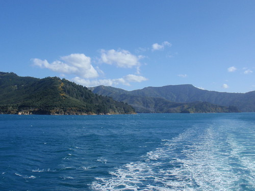 Cook Strait Ferry Ride...off to Wellington