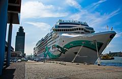 Rotterdam. Cruise ship
