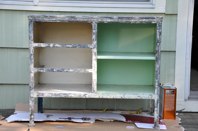 cabinet stripping 4