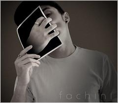 # Manipulation (Carlos Fachini ™) Tags: face photoshop hand manipulation photograph fotografia manipulação