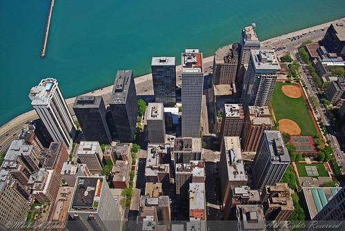 Chicago Aerial (Lake Michigan Shoreline)