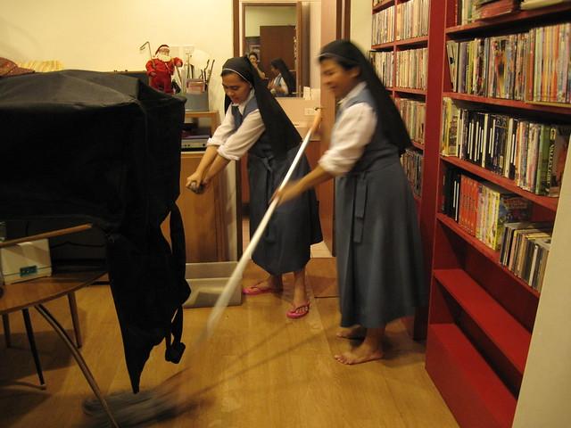 The nuns are a godsend