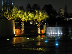 Singapore Skyline (Wilson Loo) Tags: singapore fountains marinabay marinabarrage