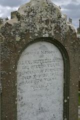 Sutherland Grave at Clan Gunn Museum
