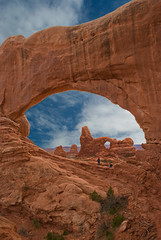 Arches North Window (mojo2u) Tags: southwest utah desert redrocks moab archesnationalpark sigma1020mm northwindow turretarch nikond80 seenonflickr archesnorthwindow