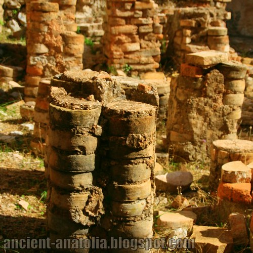 Circular Pilae Stacks of Arykanda