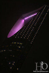 10/365 ,,, (H) Tags: pink tower lights october kingdom h2o       masha3el