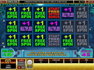 free Moonshine gamble bonus game