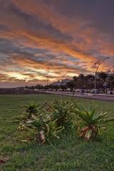 Atardecer en Janda (Quique Bloody) Tags: sunset sun lighthouse sol beach clouds faro atardecer fuerteventura playa jandia