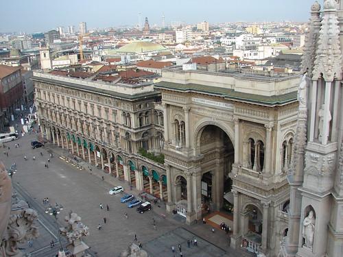 Galería Vittorio Emmanuelle de Milán by sergutel.