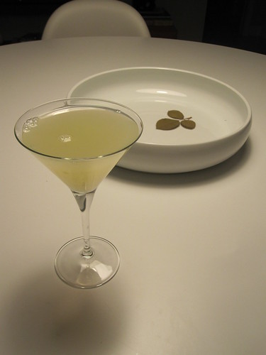 Absolut Boston tea party martini