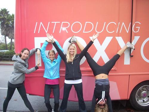 Roxy Athletix Tour: USCB R-O-X-Y