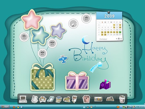 Desktop 2009-10: Happy Birthday