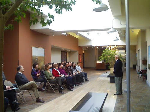 Rencontre du 27-10-09 avec les employés cadres