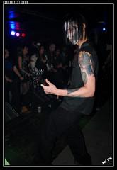 Dragnun (Joey K!) Tags: music halloween rock shop nc live horror monstrosity fest 2009 tb fayetteville lucian blitzkid dragnun renfeld