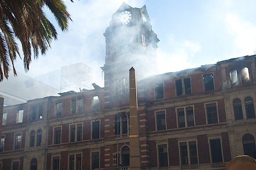 After the Fire: The Johannesburg CBD Post Office