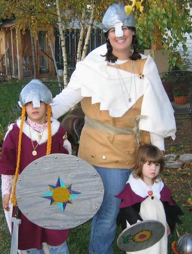 Viking Warrior Chicks