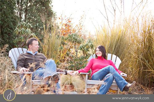 Tiffany & Joe - Olbrich Gardens Engagement Session