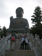 Tian Tan Buddha Statue in Hong Kong