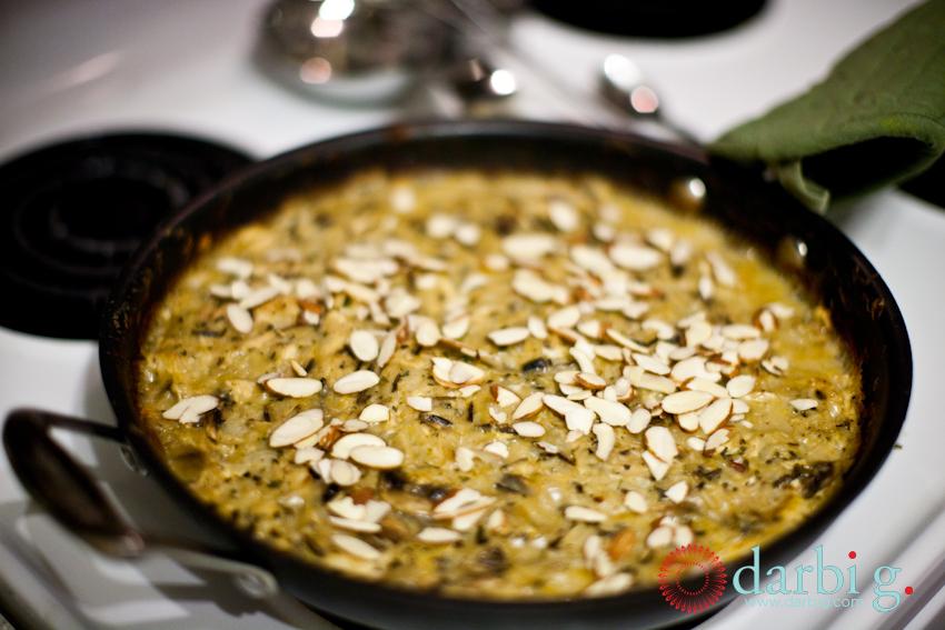 Wild Rice Chicken Mushroom casserole100