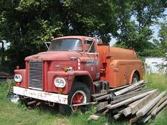 Dodge Tanker (dbro1206) Tags: red oklahoma truck forgotten dodge resting tanker