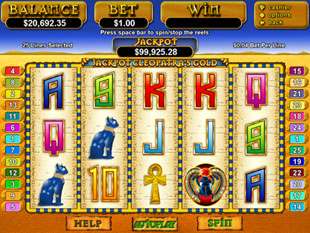 Jackpot Cleopatra's Gold slot game online review