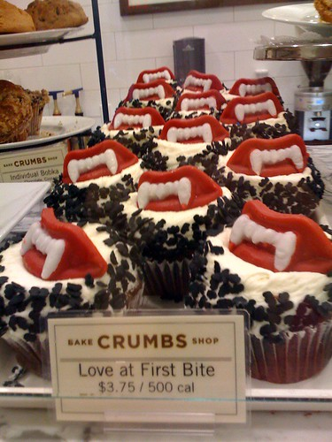 Crumbs Bakeshop Love at First Bite cupcakes