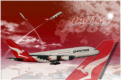 "Wallpaper A380 Qantas ""Spirit Of Autralia"""