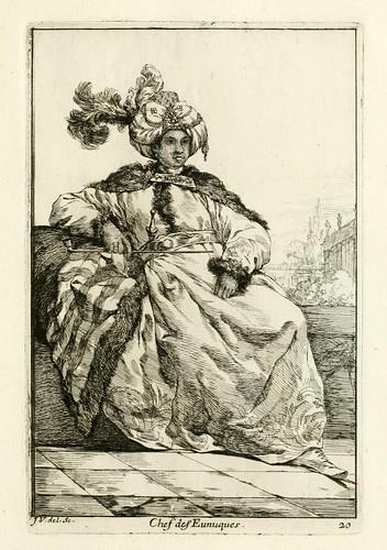 017-Caravanne du sultan ala Mecque…1748- Joseph Vien-Jefe de los Eunucos