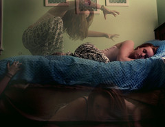 sweet dreams? (itskala) Tags: sleeping bed bedroom sleep dream manipulation dreaming nightmare 365 creatures itskay